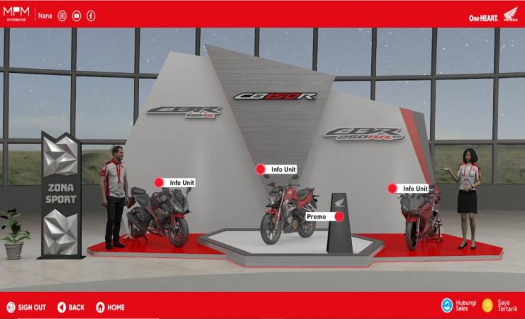 September Ceria 2021, Honda Jatim Gelar Pemeran Virtual