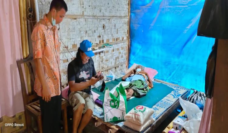 Pria Sebatang Kara di Purworejo Akhirnya Mendapat Perhatian dari IOF
