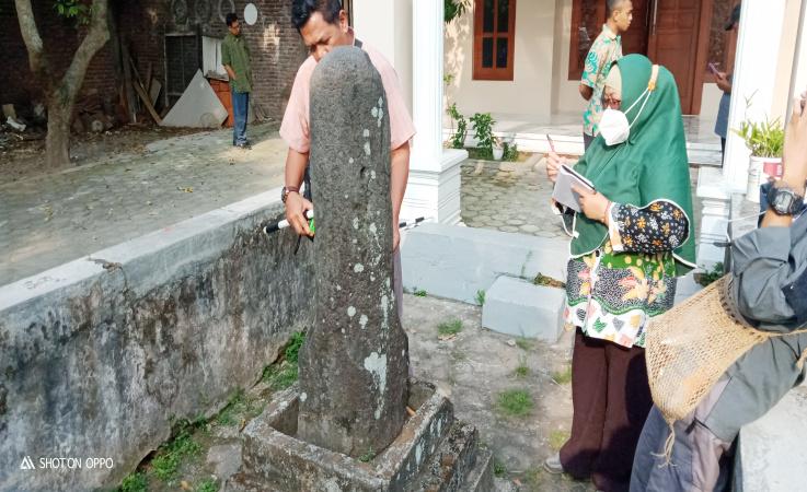 BPCB Jatim Lakukan Pengkajian Terkait Temuan Cagar Budaya di Jombang