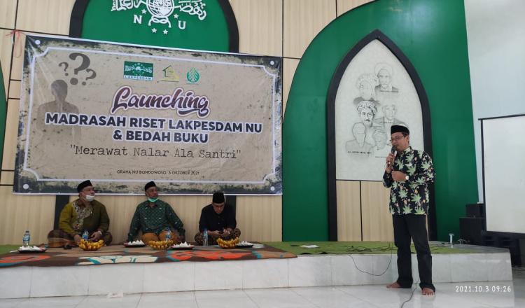 Lakpesdam PCNU Bondowoso Launching Madrasah Riset, Ini Tujuan Idealnya