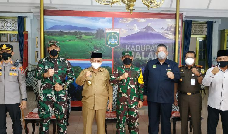 Alokasi Anggaran TMMD di Kabupaten Malang Cukup Besar, Aster KSAD Apresiasi Bupati Sanusi