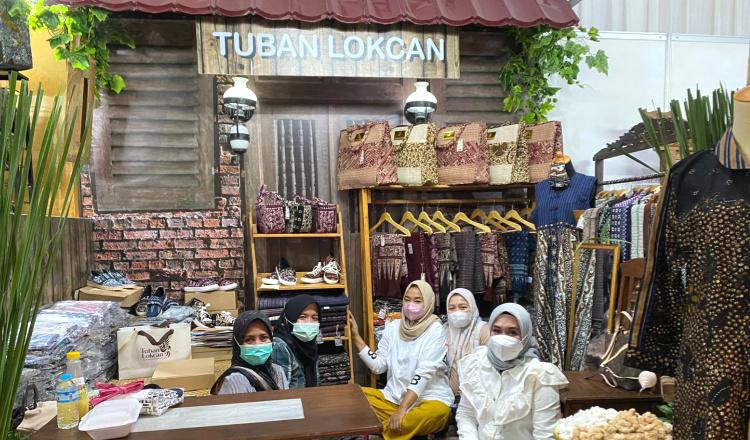 Batik Gedog Jadi Produk Unggulan UMKM Desa Gaji