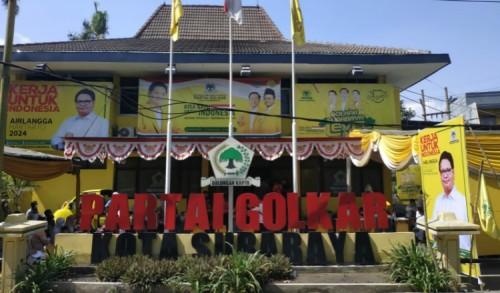 DPD Golkar Surabaya Bakal Terbitkan Buku Pertanggungjawaban pada HUT Partai ke-57