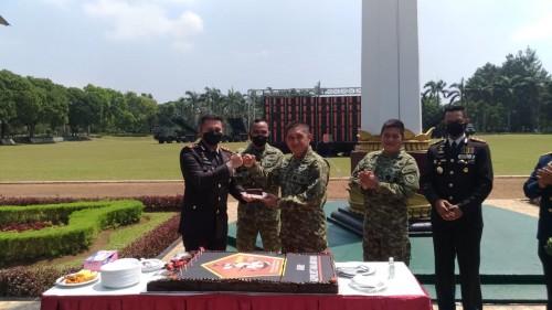 HUT ke-76 TNI, Pangdivif 2 Kostrad Tekankan Modernisasi Alutsista