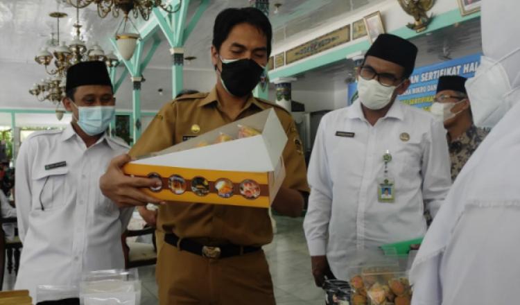 Kejar Brand Nasional, 71 UMK Kabupaten Madiun Dapat Sertifikat Halal