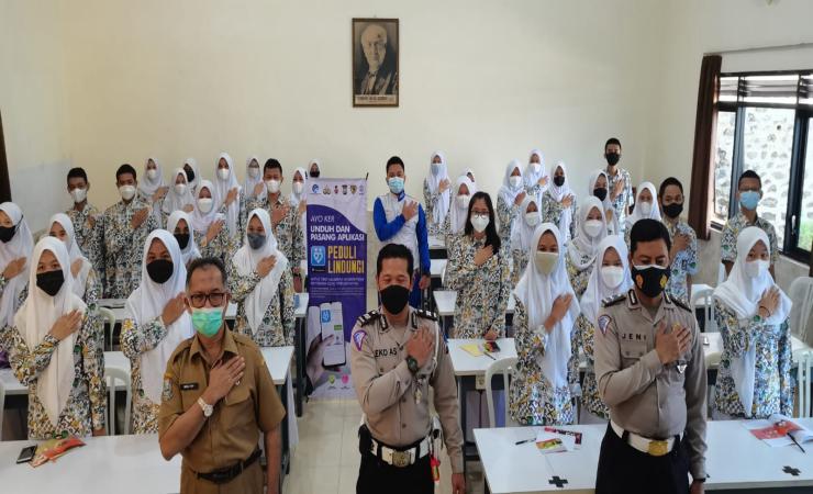 MPM dan Satlantas Polres Malang Galar Seminar Safety Riding