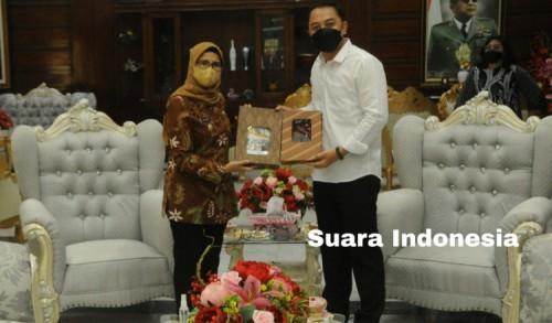 Gairahkan Sektor UMKM, Bupati Blitar Ajak Pemkot Surabaya Berkolaborasi