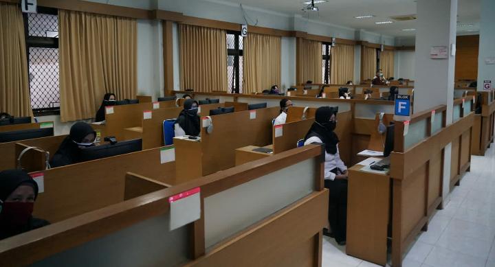 Puluhan Calon PPPK Nakes Purworejo Ikuti Seleksi Kompetensi di LPMPP UNY