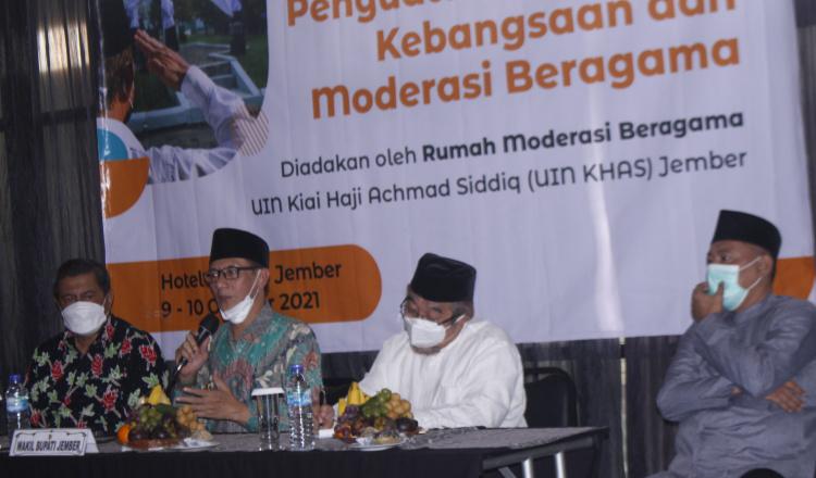 Moderasi Agama Dinilai Penting, Wabup Tantang UIN KHAS Jember