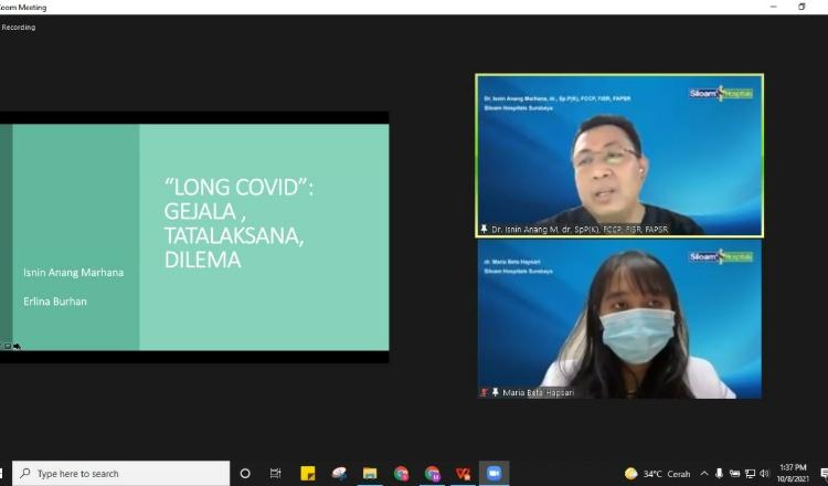 Siloam Hospitals Surabaya Berikan Edukasi soal Fenomena Long Covid-19