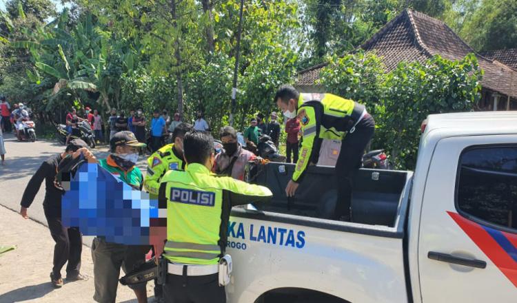 Kecelakaan Truk dan Sepeda Motor di Ponorogo, Satu Orang Tewas