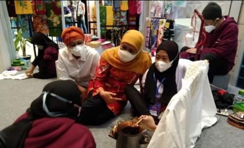 Disabilitas Asal Bondowoso Pamer Skill di Jatim Fair 2021 dengan Disiplin Prokes