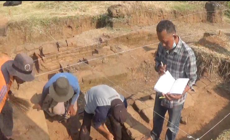 BPCB Jatim Targetkan 10 Hari Eskavasi Situs Watukucur di Jombang