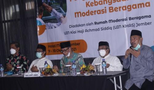 UIN KHAS Jember Gelar Workshop Penguatan Wawasan Kebangsaan dan Moderasi Beragama