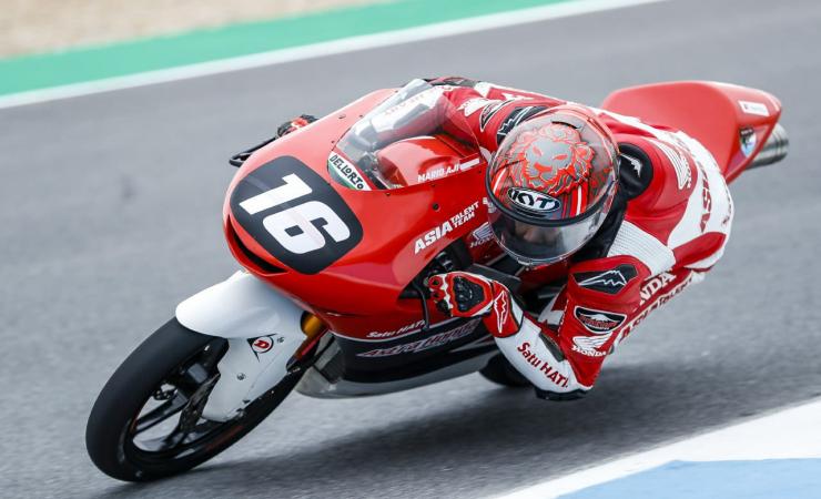 Pembalap Muda Magetan Mario Aji, Siap Debut Balapan di Grand Prix Moto3