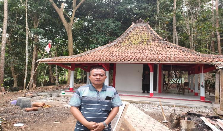 Melihat Renovasi Petilasan Tumenggung Hudhandoko di Desa Turus Purworejo