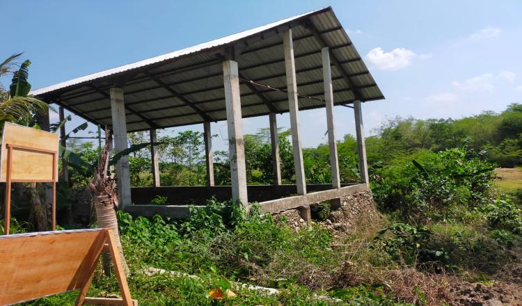 Bangunan Pokir DPRD Bojonegoro Mangkrak, Kades Berharap Ada Kelanjutan