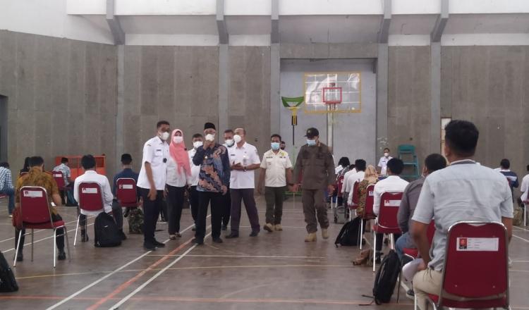 Tes Tulis Cakades di Bondowoso Terapkan Prokes,Begini Pesan Bupati Salwa