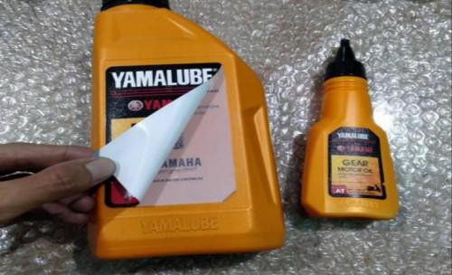 Modal Sobek Label, Bisa Menang Motor Yamaha