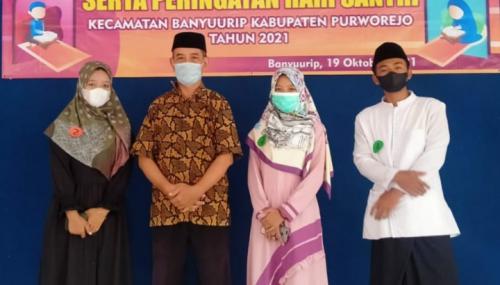 Hari Santri, Dua Siswa SMK Hasyim Asyari Purworejo Sabet Juara STQ dan MTQ