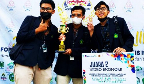 Mahasiswa UIN Malang Sabet Juara 2 Video Kreatif Jambore Ekonomi Syariah Nasional