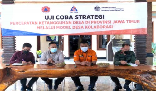 Banyuwangi Uji Coba Strategi Percepatan Desa Tangguh Bencana Melalui Model Kolaborasi